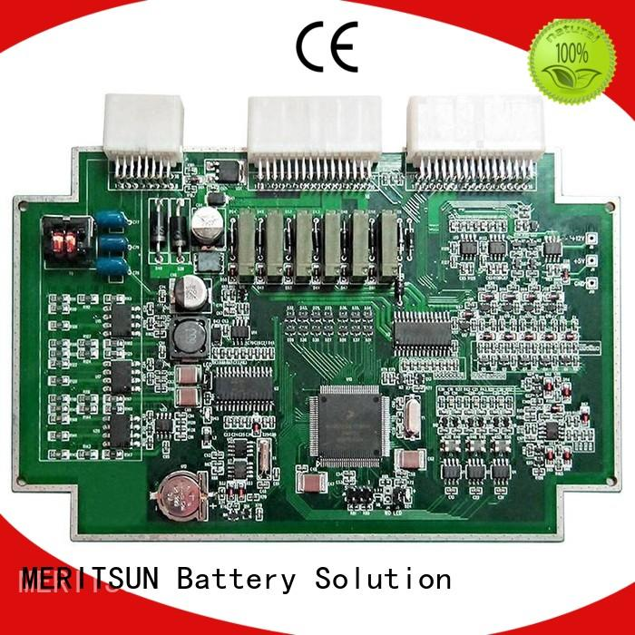 MERITSUN lithium ion bms factory direct supply for data recording