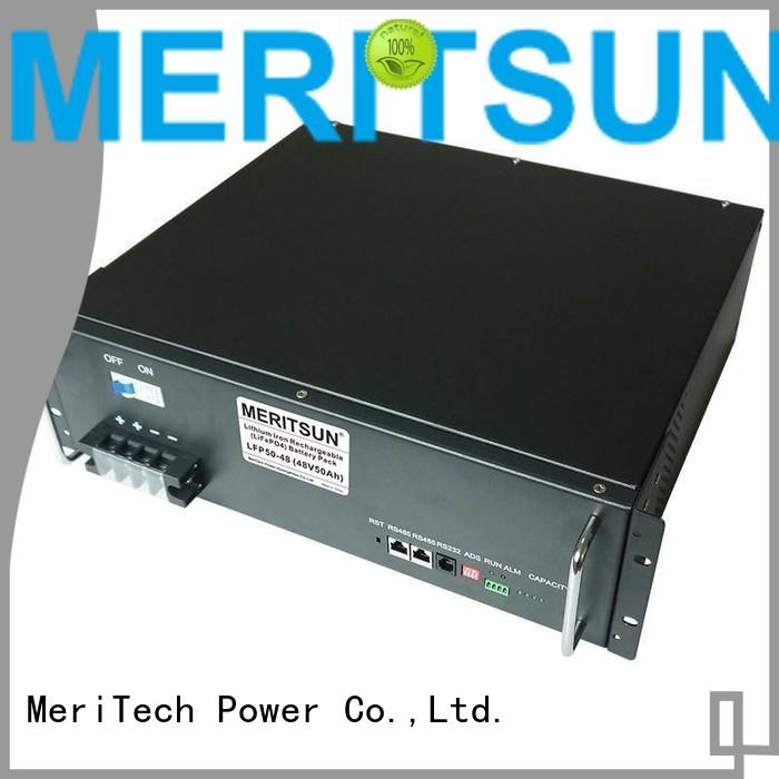 solar energy storage system lithium lifepo4 ess MERITSUN Brand battery energy storage system