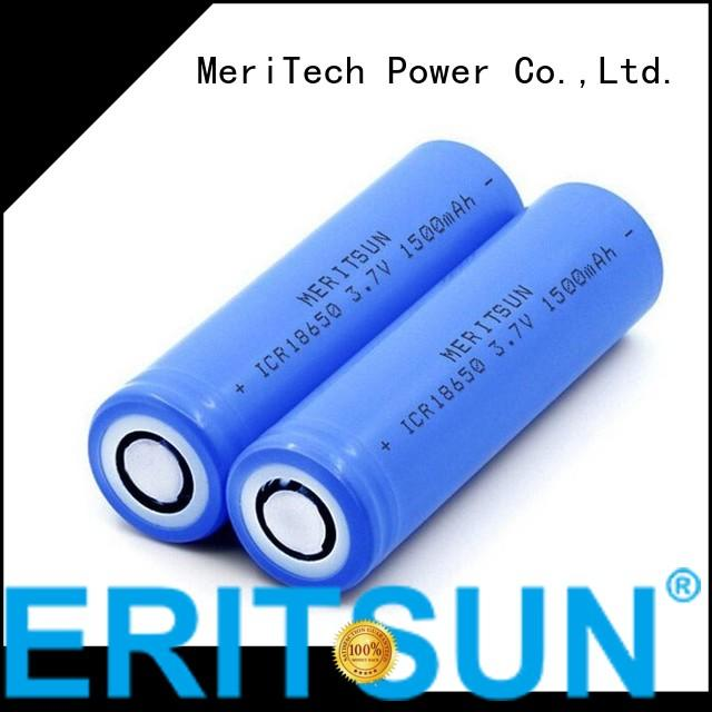 MERITSUN Brand drain lithium ion battery cells battery supplier