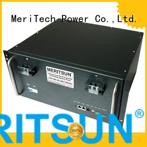 power storage devices for base transceiver station MERITSUN