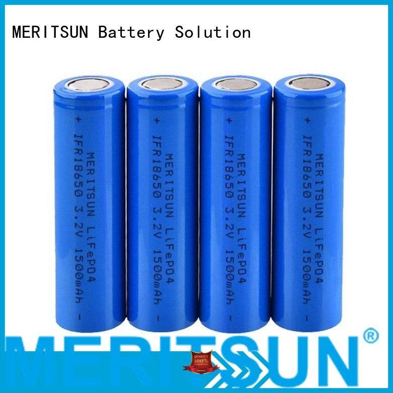 2400mah icr li ion battery cell 18650 MERITSUN company