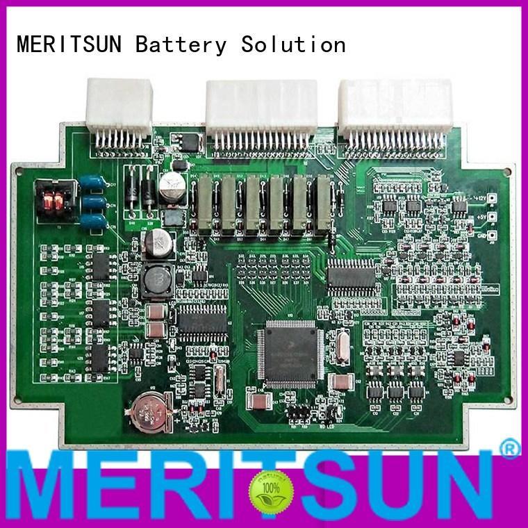 bmu pcba printed circuit board assembly bms bms MERITSUN company