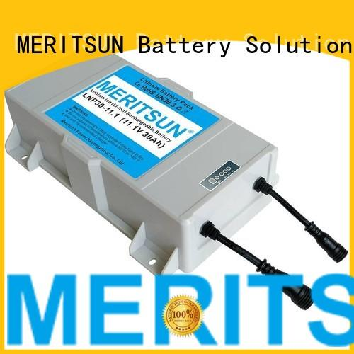 MERITSUN solar street light suppliers factory direct supply for roadway