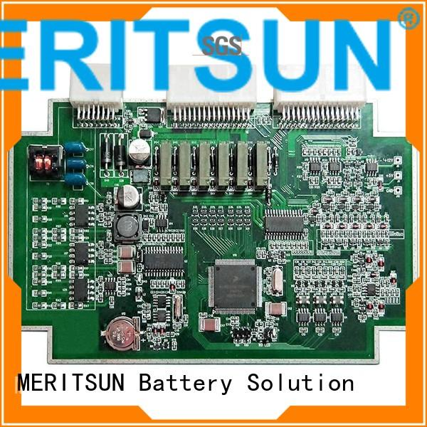 bmu bms pcba MERITSUN Brand printed circuit board assembly supplier