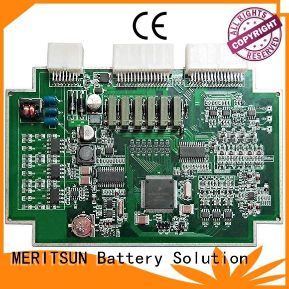MERITSUN stable bms battery management system factory direct supply for data recording
