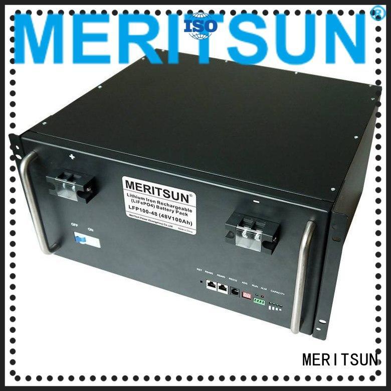iron energy solar energy storage system MERITSUN manufacture