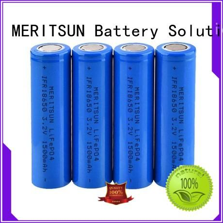 MERITSUN cheap 18650 batteries wholesale for telecom