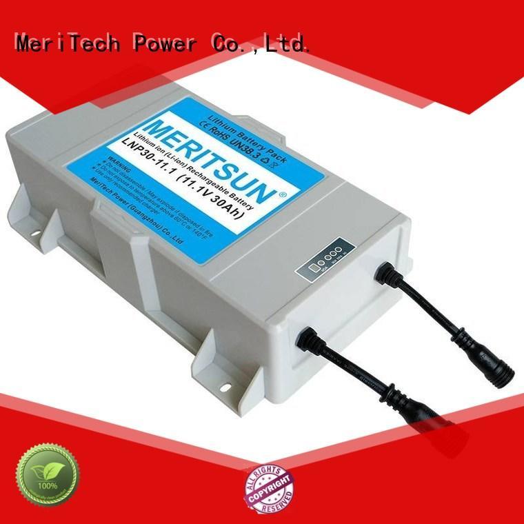 MERITSUN solar street light with battery wholesale for garden