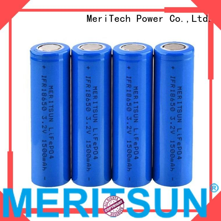 lithium ion battery cells battery ion 1500mah Warranty MERITSUN