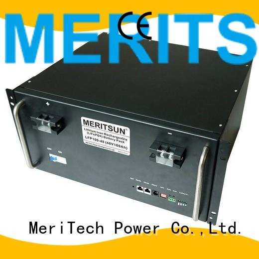 Quality MERITSUN Brand system phosphate battery energy storage system