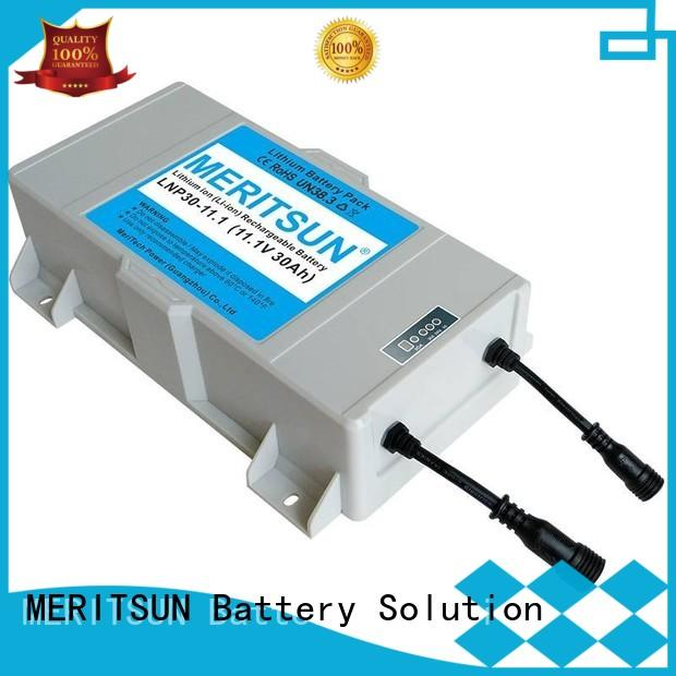 MERITSUN all in one integrated solar street light manufacturer wholesale for roadway