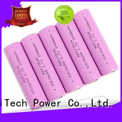 MERITSUN cheap 18650 batteries manufacturer for telecom