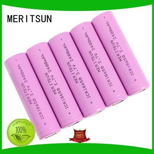 MERITSUN lithium ion cell manufacturer for telecom