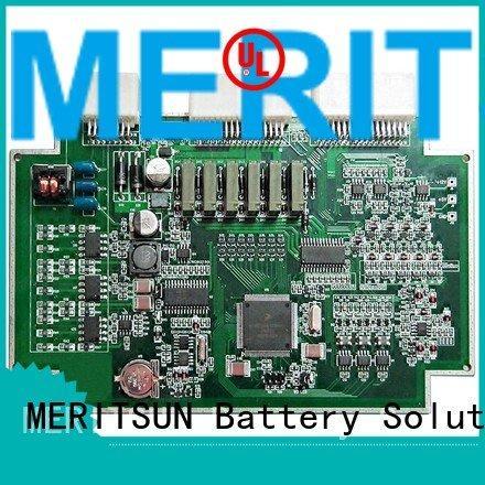 MERITSUN bmu battery management unit pcba