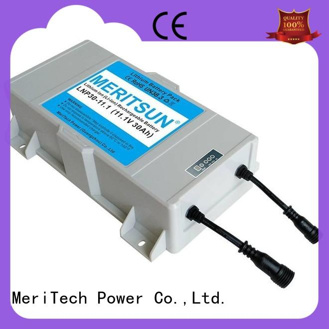 solar street lamp for LED light MERITSUN
