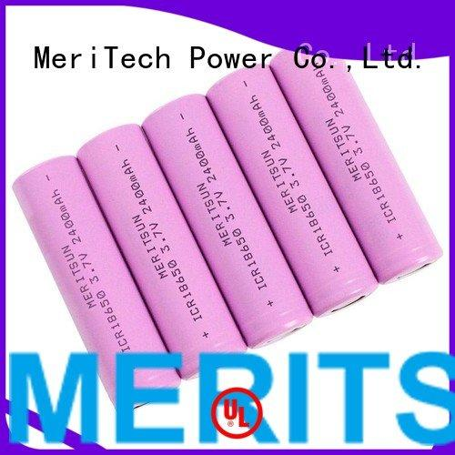 MERITSUN Brand cell liion li ion battery cell rechargeable lithium