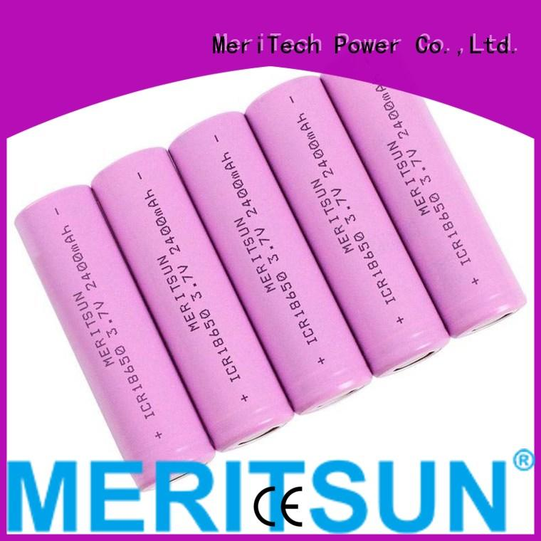 MERITSUN long-run cost 18650 lithium ion cells factory direct supply for solar