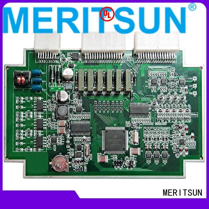 bms pcba printed circuit board assembly bmu MERITSUN company