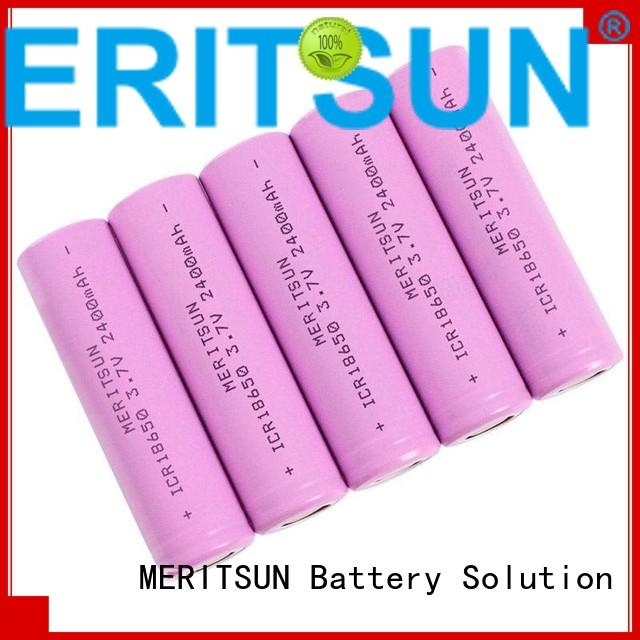 lithium ion battery cells icr ion 32v MERITSUN Brand li ion battery cell