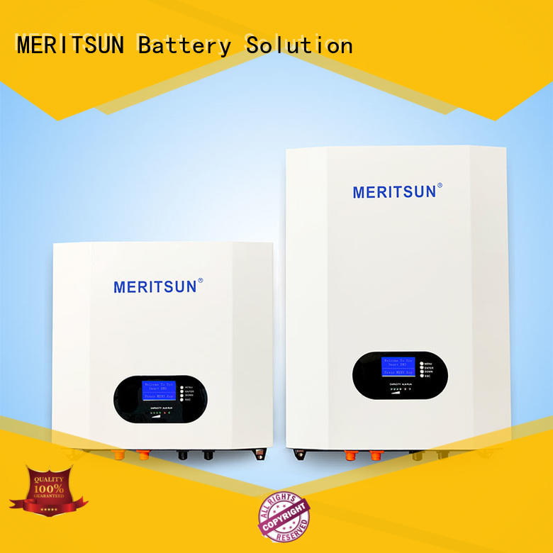MERITSUN 10kWh powerwall cost manufacturing for energy storage