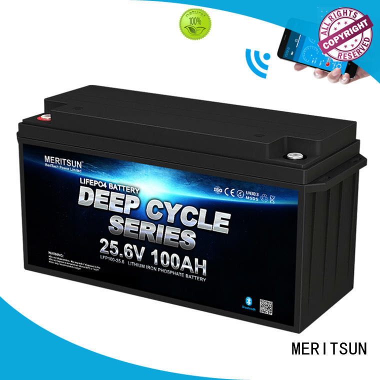 MERITSUN rechargeable lithium ion polymer battery wholesale for villa