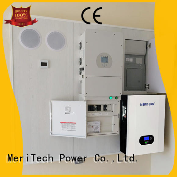 MERITSUN durable Powerwall (Hybrid Grid ESS) customized Tesla