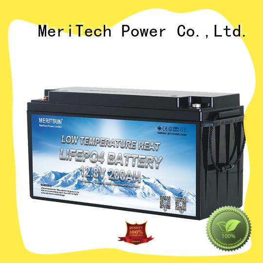 MERITSUN lithium battery low temperature factory for robot