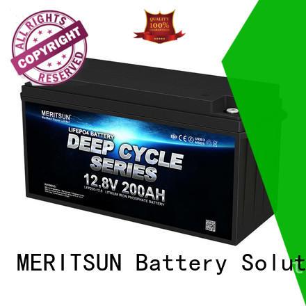MERITSUN lifepo4 battery pack customized for house