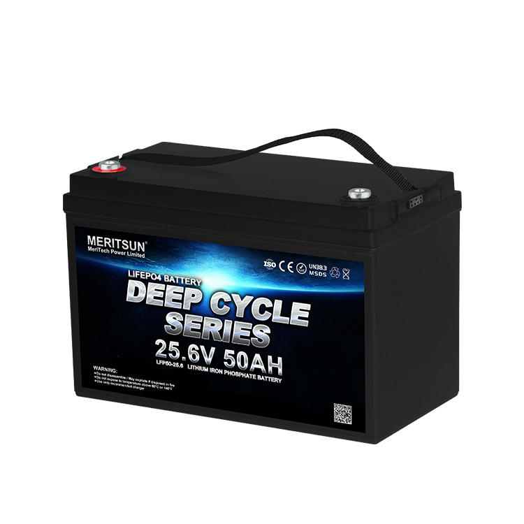 24V 50Ah Cycle Life>4000 cycles @1C 80%DOD Lithium iron Phosphate LiFePO4 Battery