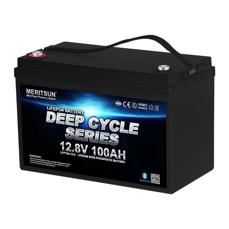 Lifepo4 Battery Lithium Battery 12v 100ah Solar Marine With Bluetooth