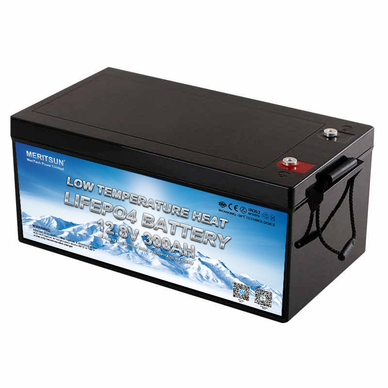 Low Temperature 12v 300ah Lifepo4 Lithium Battery Cells With Bluetooth