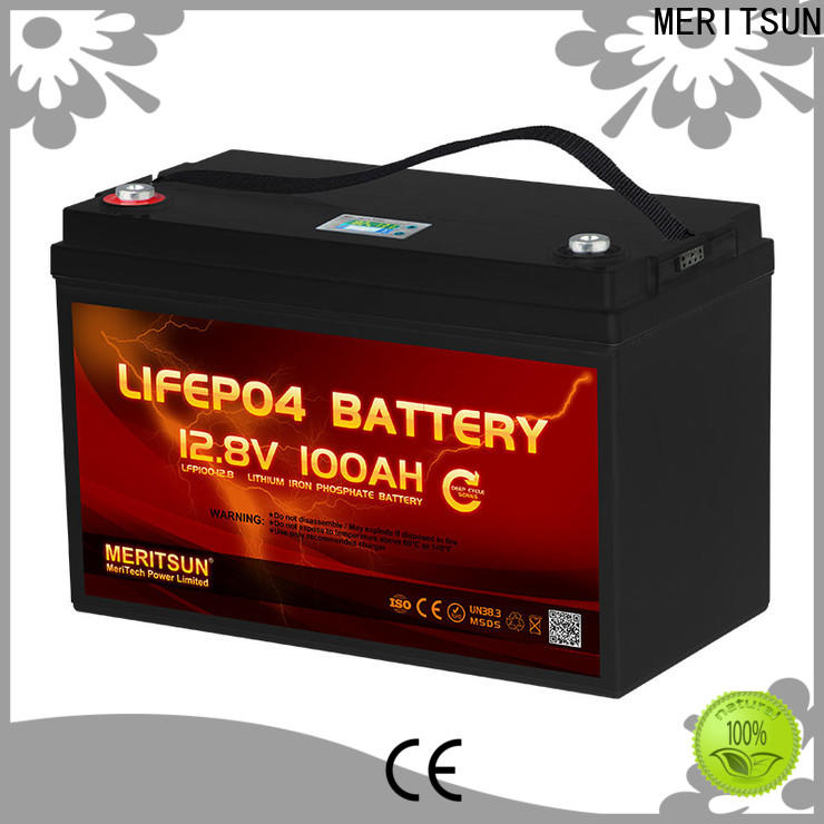 MERITSUN wholesale lifepo4 battery pack customized for villa