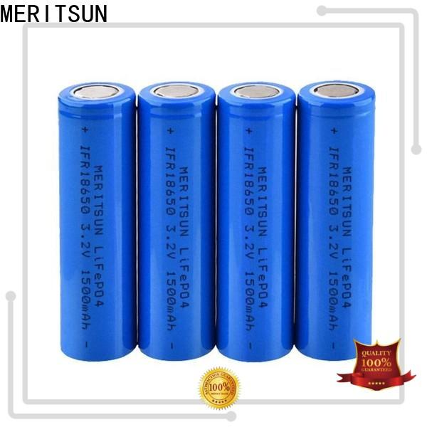 MERITSUN high-quality 3.7 volt lithium ion battery manufacturer for telecom