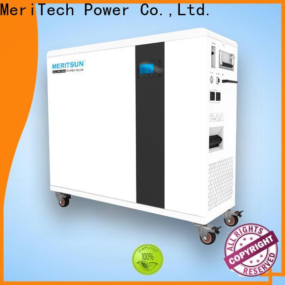 MERITSUN all-in-one house power battery supplier for family