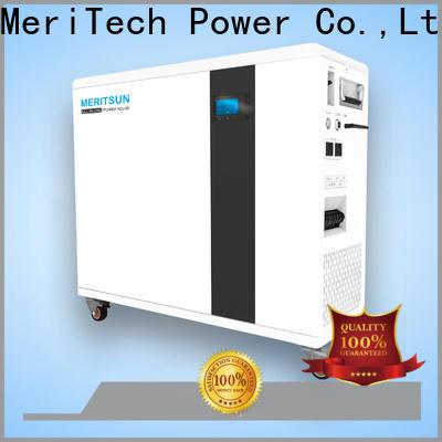 MERITSUN house power battery factory for family