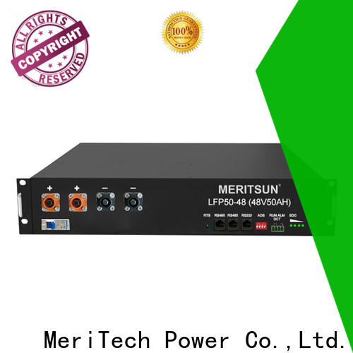MERITSUN commercial energy storage systems customized for base transceiver station