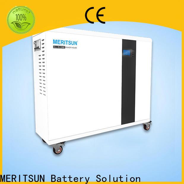 MERITSUN portable house power battery factory for picnic