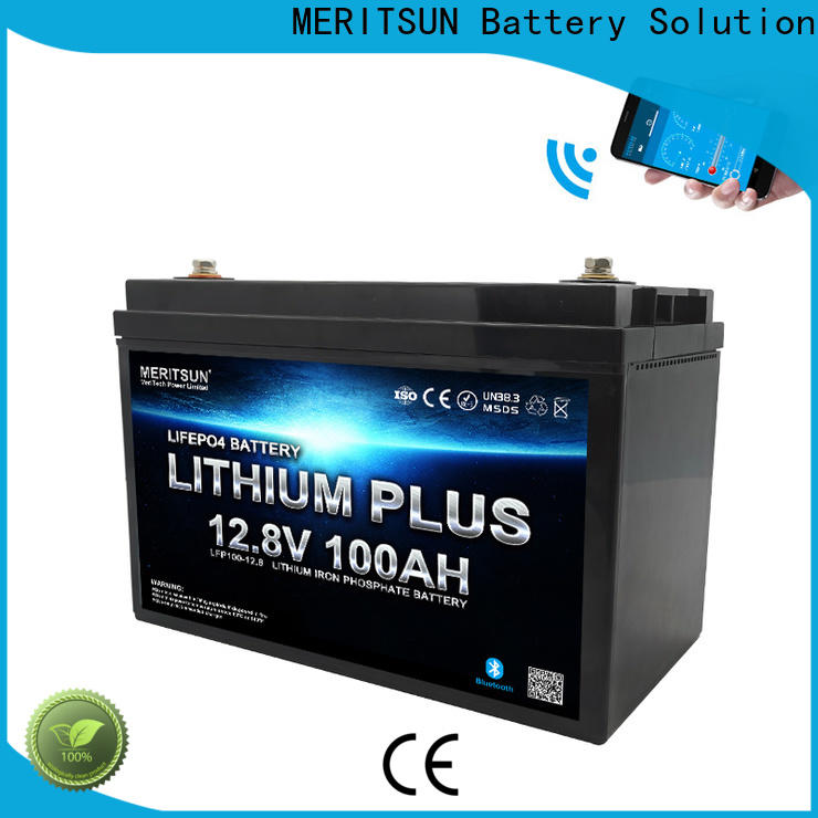 best lithium battery with bluetooth manufacturers for robot