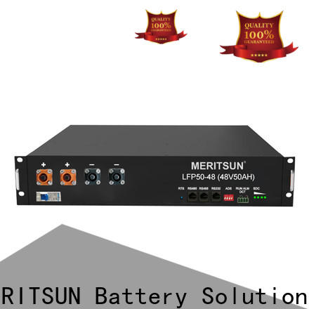 MERITSUN lifepo4 lithium storage battery systems factory direct supply for residential