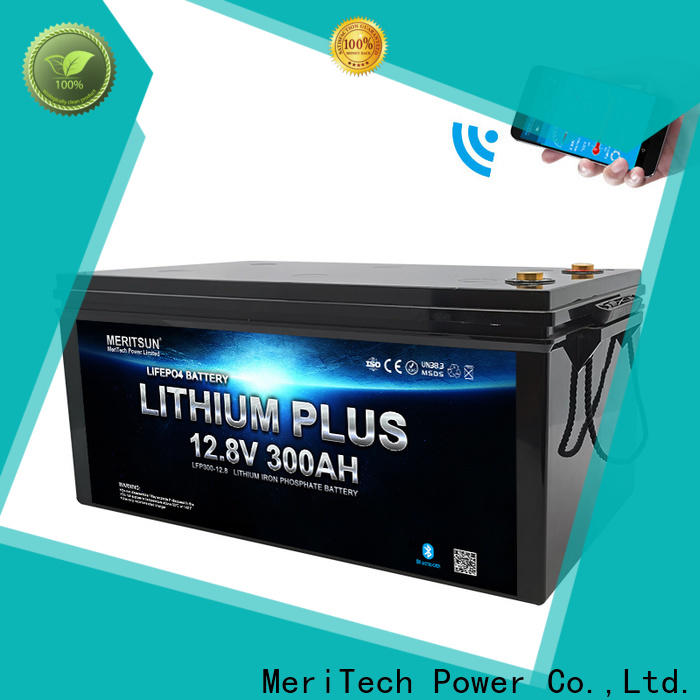 MERITSUN high-quality lithium battery with bluetooth with good price for robot