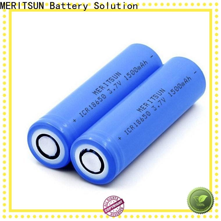 MERITSUN 18650 battery cell with good price for electric vehicles