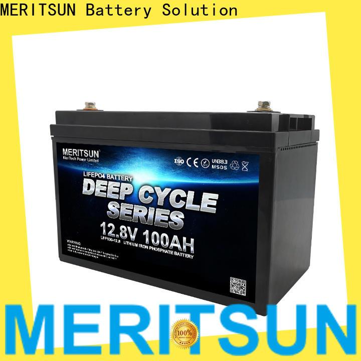 MERITSUN lifepo4 battery 48v with good price for villa
