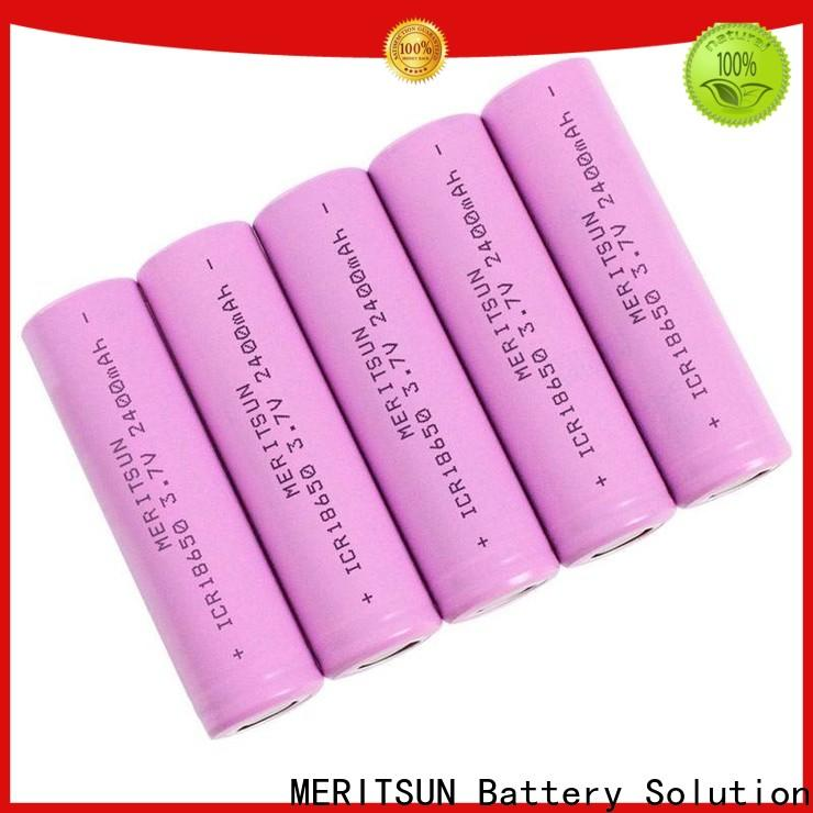 MERITSUN cheap 18650 batteries factory direct supply for power bank