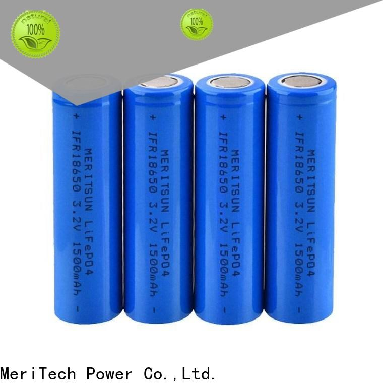 MERITSUN high drain battery factory direct supply for electric vehicles