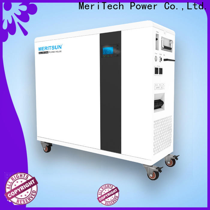 MERITSUN house power battery with good price for house