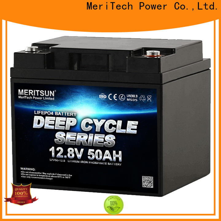 MERITSUN lithium ion polymer battery supplier for building