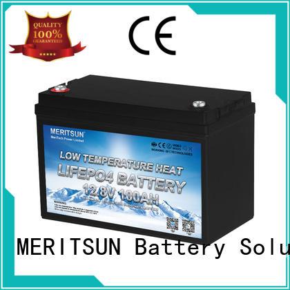 MERITSUN best low temperature li-ion battery manufacturers for car