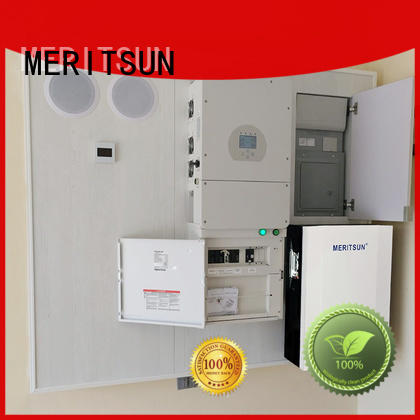 MERITSUN solar power system home battery system supplier Tesla