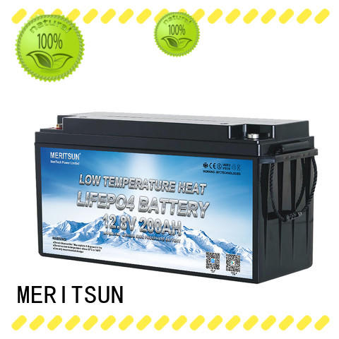 MERITSUN wholesale lithium battery low temperature suppliers for car