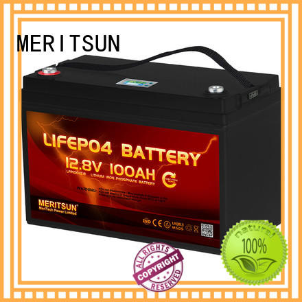 MERITSUN lithium battery manufacturers wholesale for house